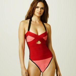 Herve Leger Veronika swimsuit